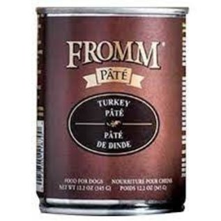 Fromm Fromm Grain-Free Turkey Pate for Dogs 12.2oz Can