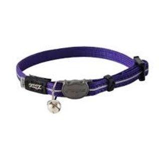 Rogz Rogz Cat Collar Purple 8-12in