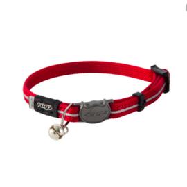 Rogz Rogz Cat Collar Red 8-12in
