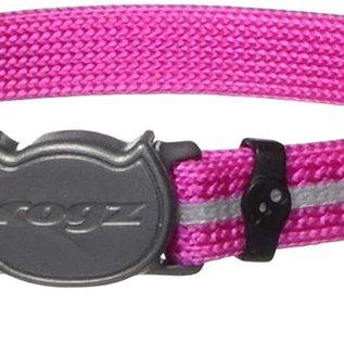 Rogz Rogz Cat Collar Pink 8-12in