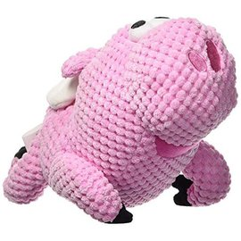 "GoDog Go Dog Chew Guard Toy Flying Pig (6"")"