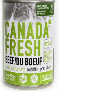 Canada Fresh CANADA FRESH Cat Wet - Beef 13 OZ
