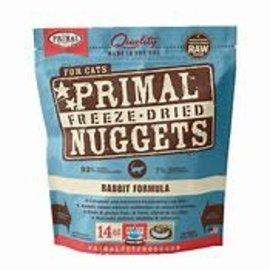 Primal Primal  Pet Foods 14oz Freeze Dried Rabbit Nuggets Cat