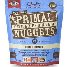 Primal Primal  Pet Foods Freeze Dried Duck Nuggets14oz