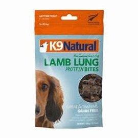 K9 Natural K9 Naturals Lamb Lung Protein Bites Lamb - Dog  50g