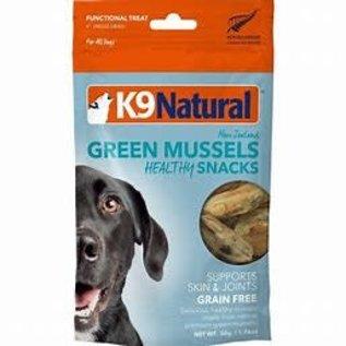 K9 Natural K9 Naturals Freeze-Dry Healthy Bites Green Mussels - Dog  50g