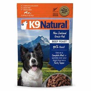 K9 Natural K9 Naturals Freeze-Dry Beef Treat/Topper - Dog  500g