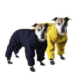 MUTTLUKS Muttluks Reversible Snowsuit Yellow & Black Size 12