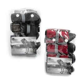 Silver Paw Large Black Silver Paw Boots