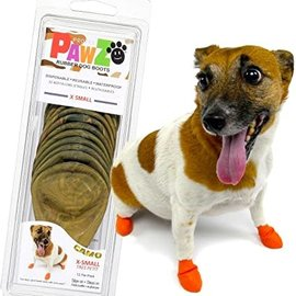 Pawz Products PawZ Camo Rubber Dog Boots Small