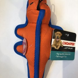 chomper Chomper Infinity Tuff-Small Gator-Orange
