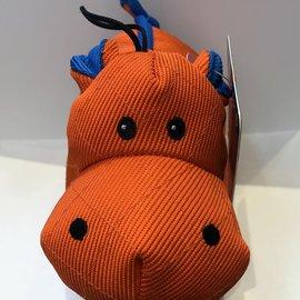 chomper Chomper Infinity Tuff-Small Hippo-Orange