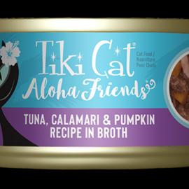 Tiki Cat Tiki Cat Aloha Friends - Tuna with Calamari and Pumpkin 5oz