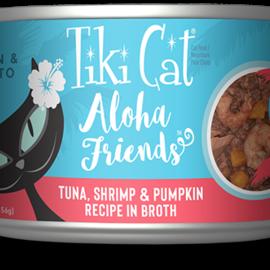 Tiki Cat Tiki Cat Aloha Friends - Tuna with Shrimp And Pumpkin 5.5oz