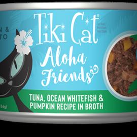 Tiki Cat Tiki Cat Aloha Friends - Tuna with Ocean Whitefish And Pumpkin 3oz