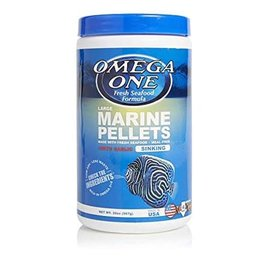 OmegaSea Omega Sea Large Marine Pellets + With Garlic 20oz