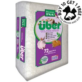 UBER UBER Soft Paper Bedding 72L 44 cubic inches White Colour