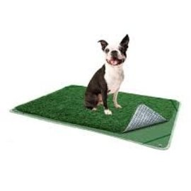 """Pooch Pads Pooch Pad Indoor Turf Dog Potty (Turf Pee Pad)  Connectable 16"""" x 24"""