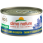 Almo Nature Almo Cat Nature HQS Natural Tuna and Clam in Broth Can 70g