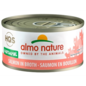 Almo Nature Almo Cat Nature HQS Natural Salmon in Broth 70g