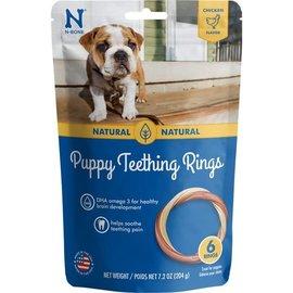 N-BONE Puppy Teething Ring - Chicken Flavour - 7.2 oz