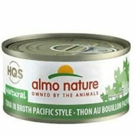 Almo Nature Almo Nature HQS Natural Tuna in Broth Pacific Style (70g)