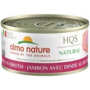Almo Nature Almo Nature Natural Made in Italy Ham with Turkey in Broth (70g)