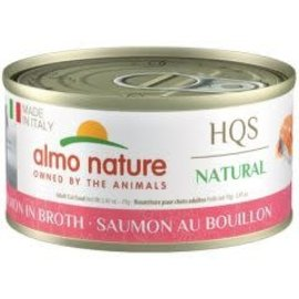 Almo Nature Almo Nature Natural Made in Italy Salmon in Broth(70g)
