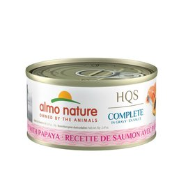 Almo Nature Almo Nature HQS Complete Salmon and Papaya in Gravy (70g)