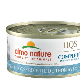 Almo Nature Almo Nature HQS Complete Tuna with Quail Eggs in Gravy (70g)