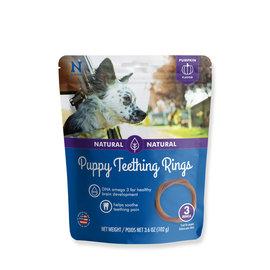 N-BONE Puppy Teething Rings Pumpkin 3pc