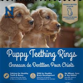 N-BONE Puppy Teething Ring - Peanut Butter - 1.2 oz