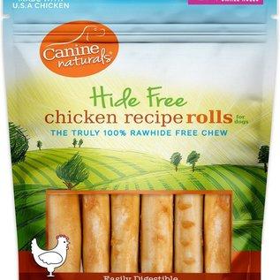Canine Naturals Hide Free Chicken Recipie Rolls 120g 6pk