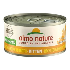 Almo Nature Almo Nature HQS Natural Chicken Breast in Broth (Kitten) 70g