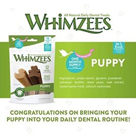 Whimzees Whimzees M/L Breed Puppy Dental Treats