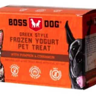 Boss Dog Boss Dog Frozen Yogurt Pet Treat - Pumpkin & Cinnamon 4x3.5oz
