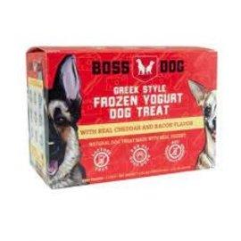 Boss Dog Boss Dog Frozen Yogurt Pet Treat - Cheddar & Bacon  4x3.5oz