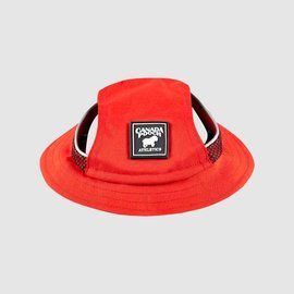 Canada Pooch Canada Pooch Bucket Hat for Dogs - Red (XL)