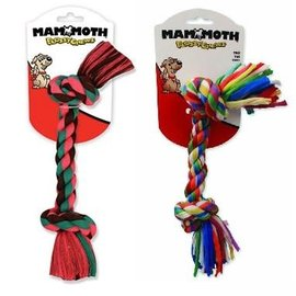 MAMMOTH Mammoth Flossy Chews Small 2 Knot Multicolor
