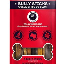 Canadian Jerky Company Bully Stick Air Dried 12in 8 pack