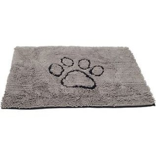 DGS Doggy Doormat - Soaks Up Water, Dirt, and Mud (Light Grey)