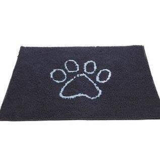DGS Doggy Doormat - Soaks Up Water, Dirt, and Mud (Dark Grey)