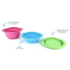 Beco Pets Large Beco Travel Bowl Green 1.25L