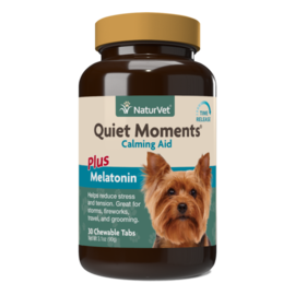 naturvet Naturvet Dog Calming Aid with Melatonin (30 Chewable Tablets)