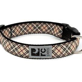 """RC Pets RC Pets Tan Tartan Collar XS (7""""-9"""")"""