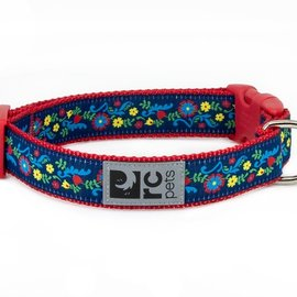 "RC Pets RC Pets Feeling Folksy Clip Collar Large (15""-25"")"