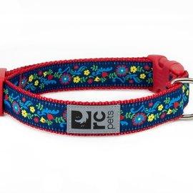 "RC Pets RC Pets Feeling Folksy Clip Collar Small  (9""-12"")"