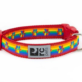 """RC Pets RC Pets Rainbow Paws Clip Collar Small  (9""""-12"""")"""