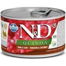 Farmina N&D Quinoa Dog Skin & Coat Venison & Coconut 4.9oz