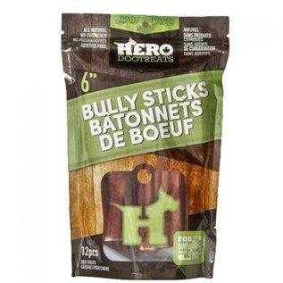 Hero Hero Bully Stick 6in 12pk